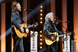 Dierks Bentley and Marty Stuart; Photo Courtesy Of NBC