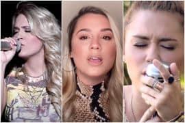 Carrie Underwood, Gabby Barrett, Miley Cyrus