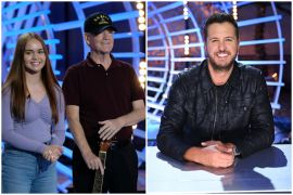 Danica Steakley, Luke Bryan - American Idol 1