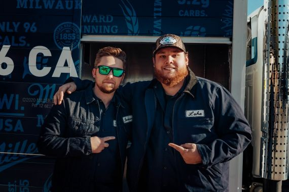 Jameson Rodgers, Luke Combs; Photo by Emma Golden