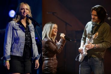Miranda Lambert, Maren Morris and John Mayer; Photo by Francis Specker/CBS ©2021 CBS Broadcasting, Inc.