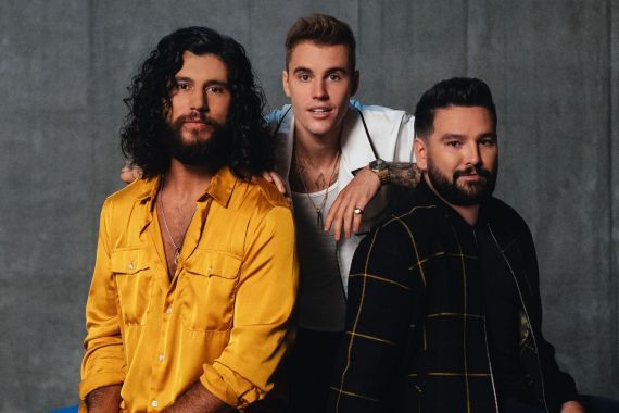 Dan + Shay and Justin Bieber; Photo by Catherine Powell
