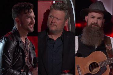 Connor Christian, Blake Shelton, Aaron Konzelman,