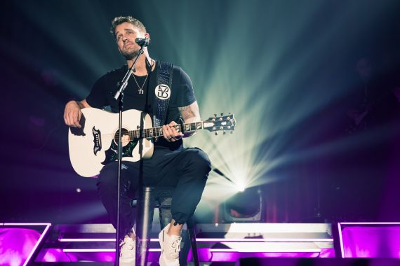 Brett Young Country Now Live; Photo by David Bradley