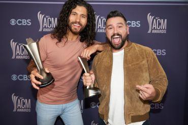 Dan + Shay; Photo Courtesy of CBS