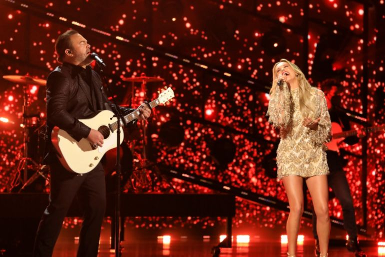 Lee Brice And Carly Pearce; Photo Courtesy Of CBS