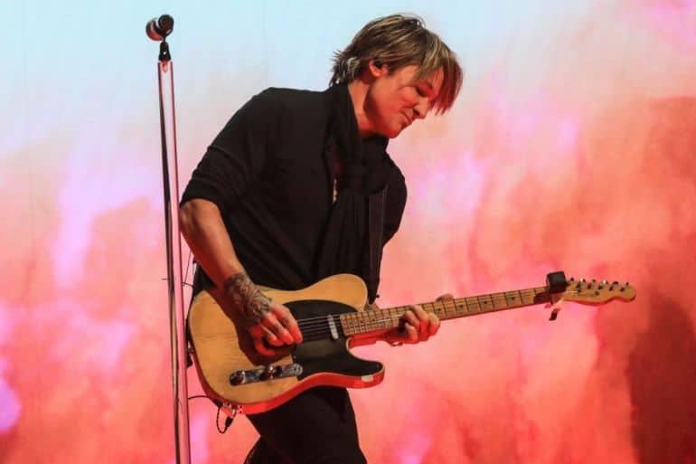 Keith Urban; Photo Courtesy of CBS