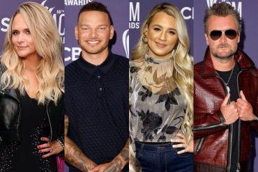 Miranda Lambert, Kane Brown, Gabby Barrett, Eric Church