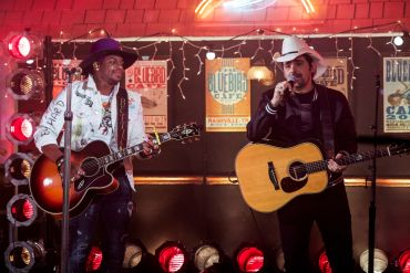 Jimmie Allen And Brad Paisley; Photo Courtesy of CBS