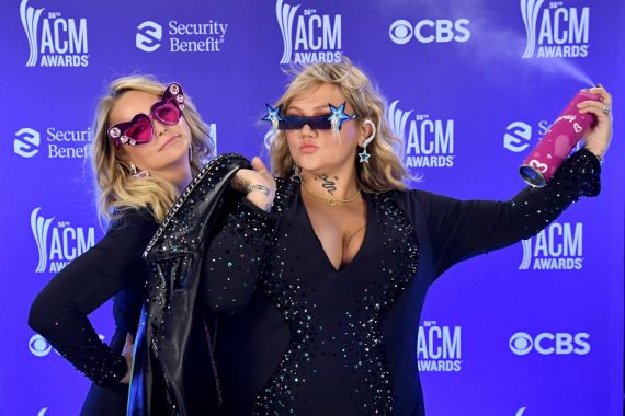 Miranda Lambert, Elle King; Photo by Kevin Mazur, Getty Images for ACM