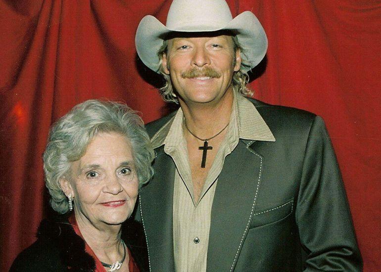 Alan-Jackson and Mother, Ruth