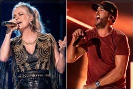 Carrie Underwood, Luke Bryan; Photos by Andrew Wendowski