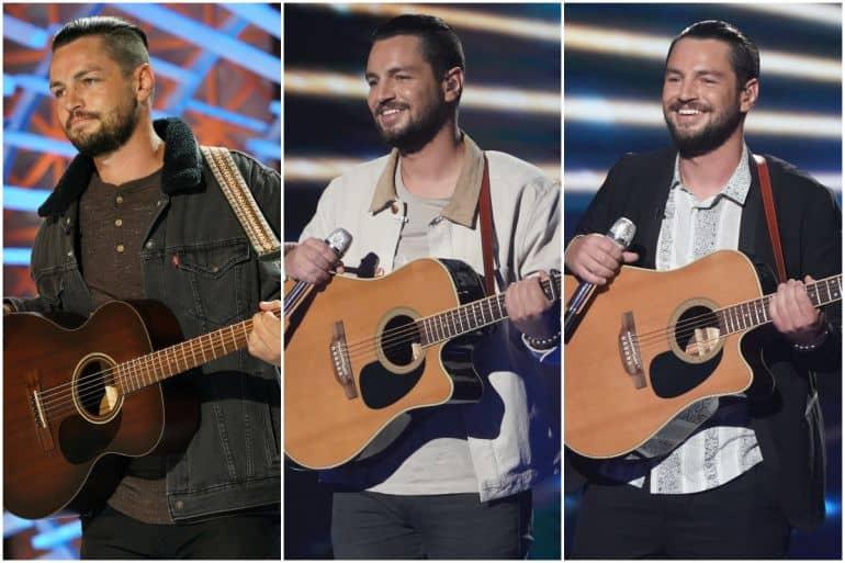 Chayce Beckham; Photos via ABC/ American Idol