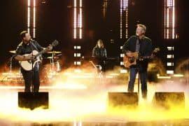 Ian Flanigan, Blake Shelton; Photo by Trae Patton, NBC
