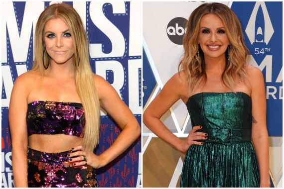 Lindsay Ell; Photo by Rick Diamond/Getty Images for CMT, Carly Pearce; Jamie Schramm/CMA