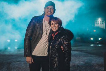 Matt Stell and Mom Lisa Todd