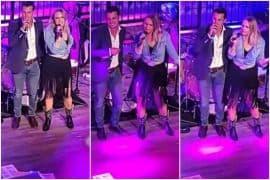 Miranda Lambert, Brendan McLoughlin; Photos via Twitter