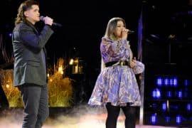 Kenzie Wheeler, Kelly Clarkson; Photo by: Trae Patton/NBC