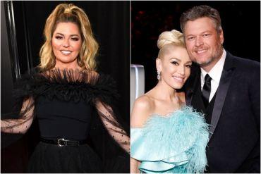 Shania Twain, Gwen Stefani, Blake Shelton
