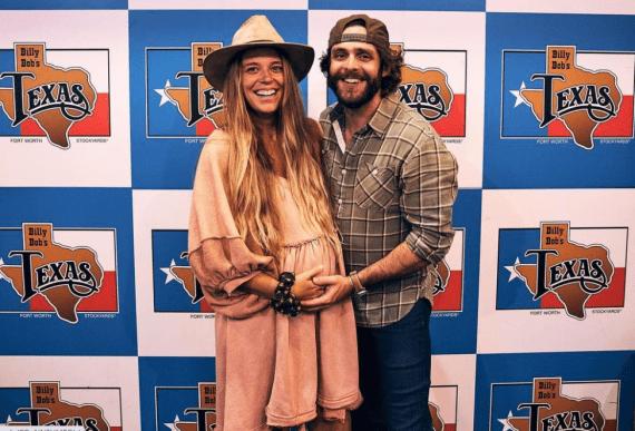 Thomas Rhett and Lauren Akins Pregnant