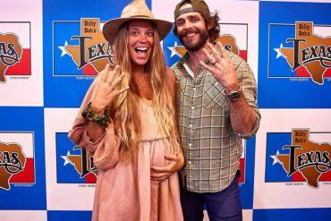 Thomas Rhett and Wife, Lauren