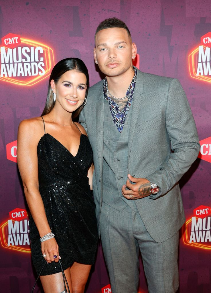 Katelyn Brown and Kane Brown; Getty Images for CMT