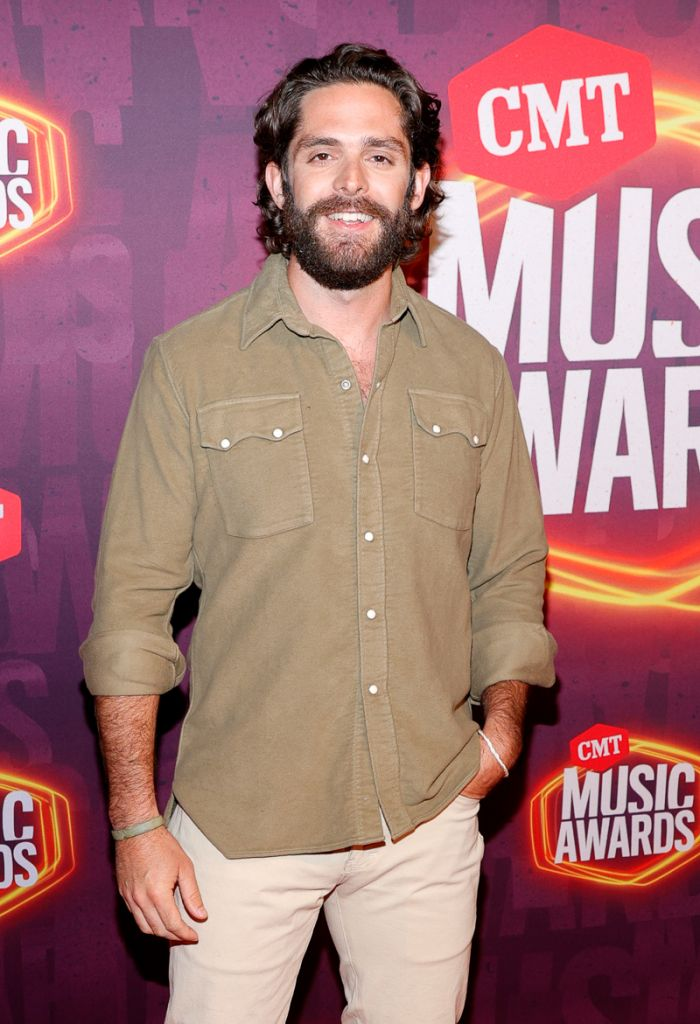 Thomas Rhett; Getty Images for CMT