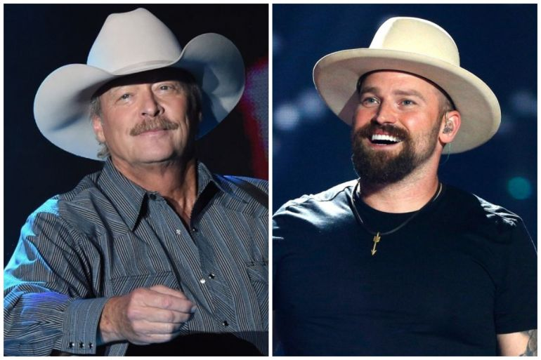 Alan Jackson; Photo by Rick Diamond/Getty Images for Tree Town Music Festival, Zac Brown; Photo by Ethan Miller/Getty Images for iHeartMedia
