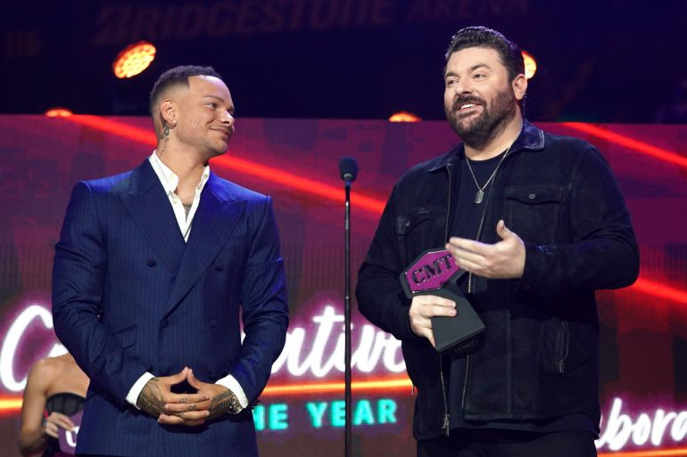 Kane Brown & Chris Young; Photo Courtesy of CMT
