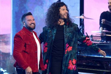Dan + Shay; Photo Courtesy of Getty Images for iHeartRadio