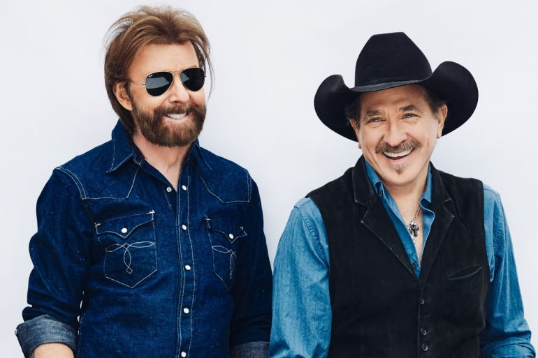 Brooks & Dunn; Photo by Miller Mobley