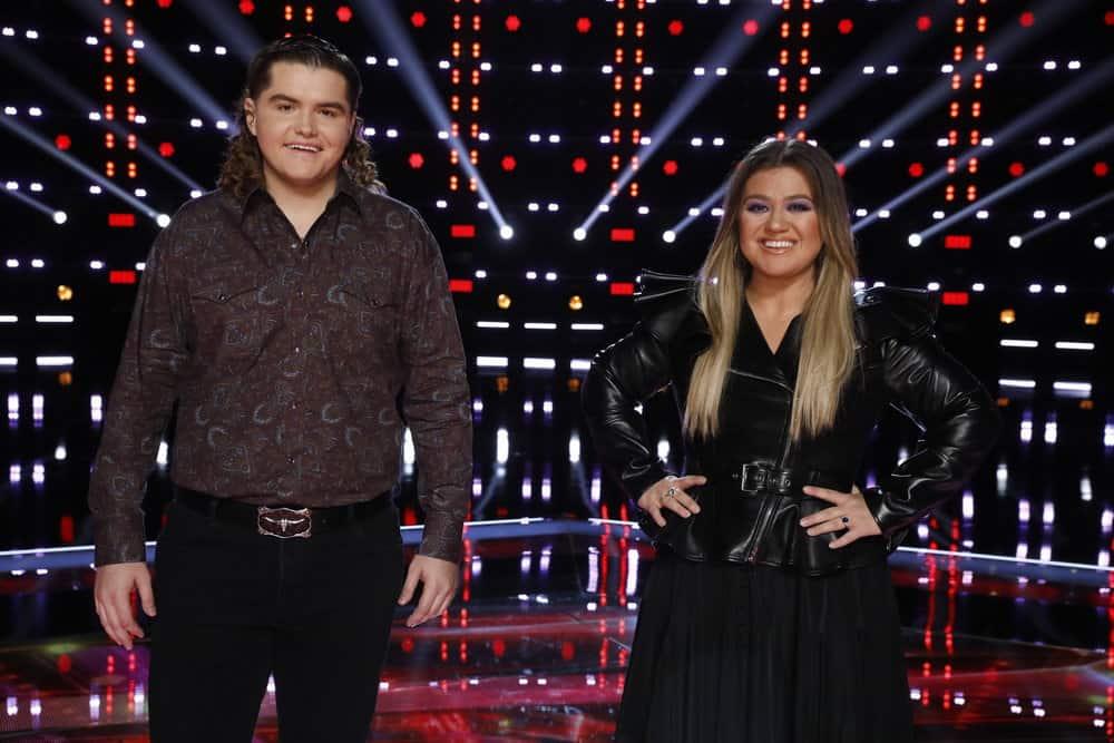 Kenzie Wheeler, Kelly Clarkson; Photo by Trae Patton, NBC