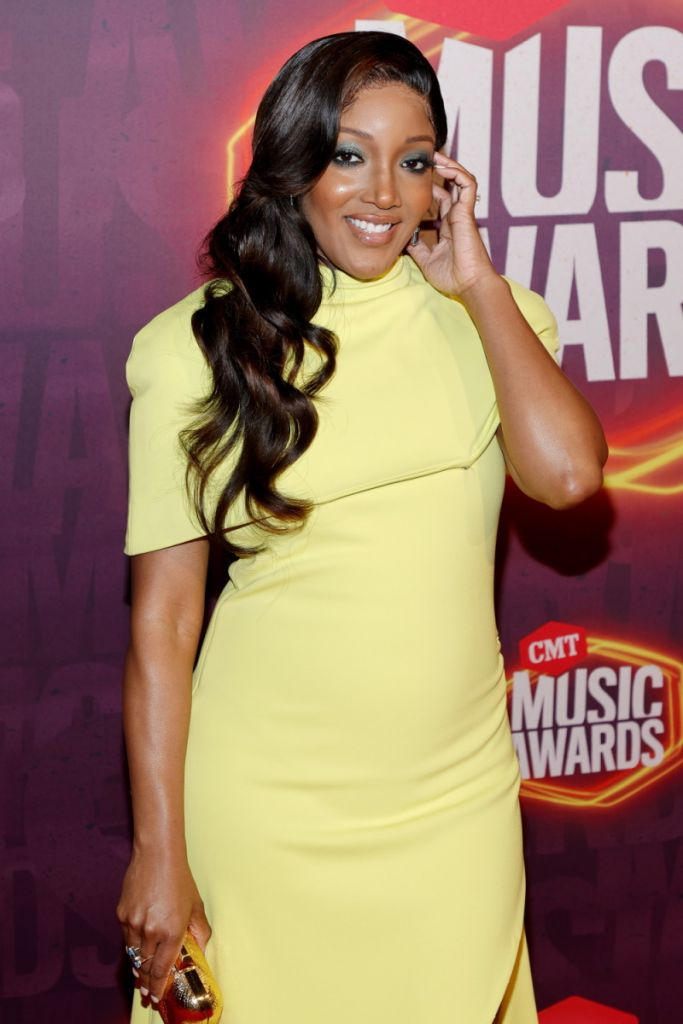 Mickey Guyton; Getty Images for CMT