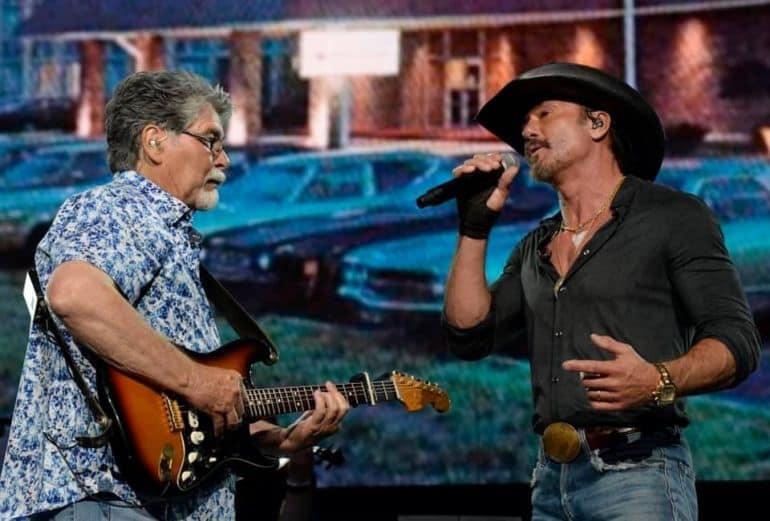 Alabama, Tim McGraw; Photo Courtesy Rick Diamond