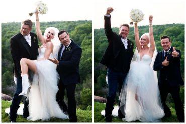 Blake Shelton, Gwen Stefani, Carson Daly