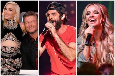 Blake Shelton & Gwen Stefani, Thomas Rhett, Carly Pearce