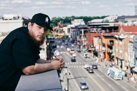 Luke Combs; Photo by John Shearer, Getty Images for CMT