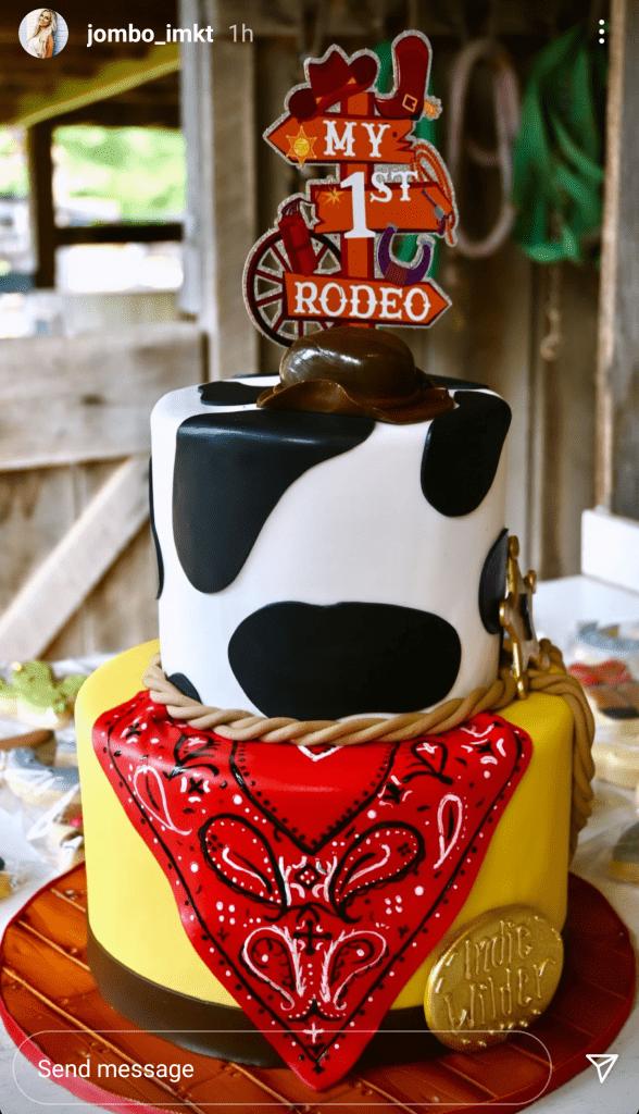Morgan Wallen's Son Indie Wilder First Birthday Party; Photo Courtesy jombo_imkt on Instagram