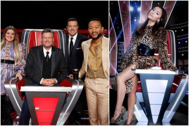 The Voice cast; Photos Courtesy NBC