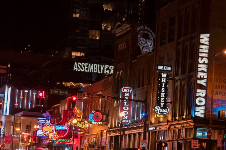 Broadway -- Nashville; Photo by Andrew Wendowski
