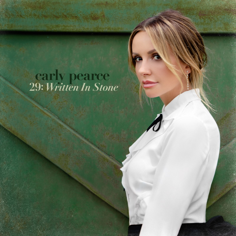 Carly Pearce - Written In Stone Cover Art; Courtesy Big Machine Records