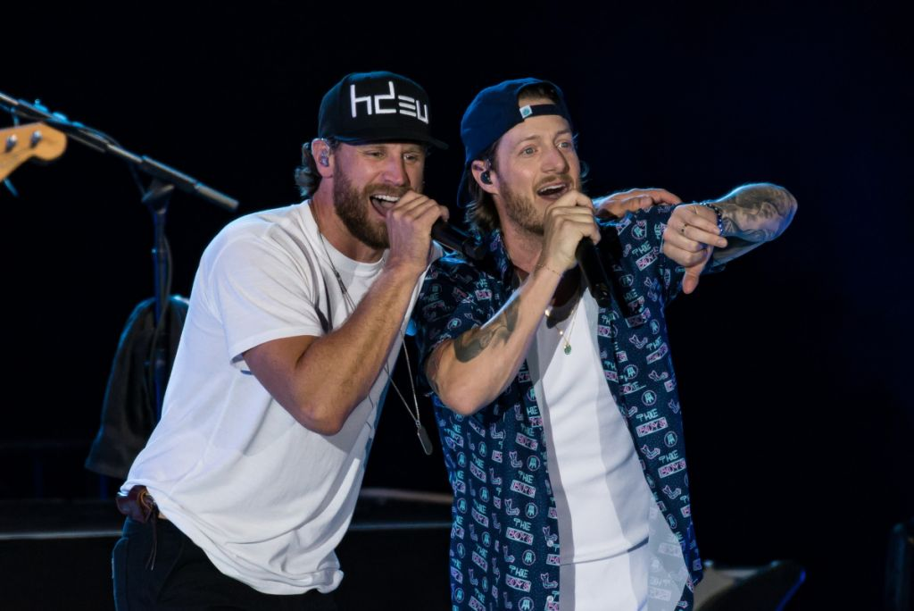 Chase Rice and Tyler Hubbard; Photo by Andrew Wendowski