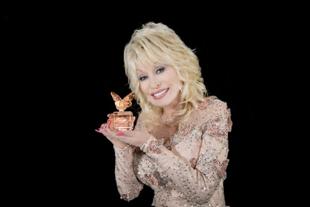 Dolly Parton, Scent from Above; Photo by STACIE HUCKEBA