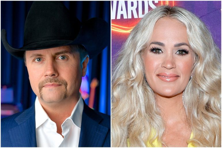 John Rich; Photo Courtesy Fox Nation, Carrie Underwood; Photo by Jason Kempkin, Getty Images