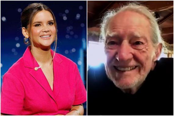 Maren Morris, Willie Nelson; Photos via ABC