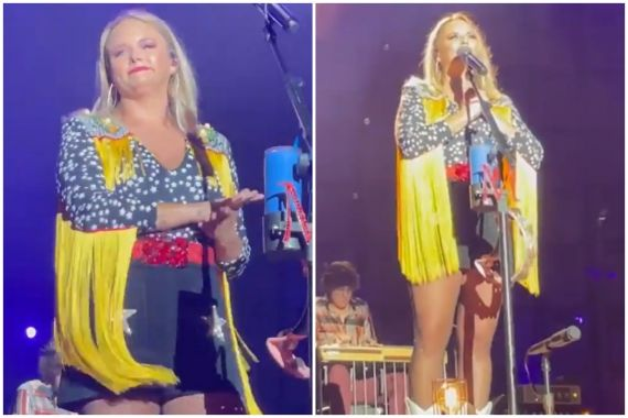 Miranda Lambert; Photos Courtesy @jamesh2222 on Twitter