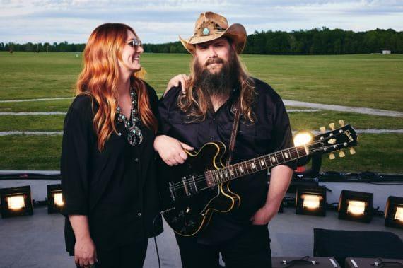 Morgane Stapleton, Chris Stapleton; Photo by John Shearer/Getty Images