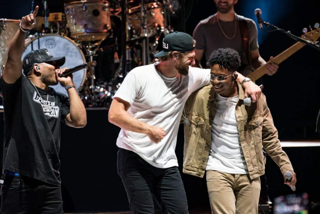 Nelly, Chase Rice, Breland; Photo by Andrew Wendowski