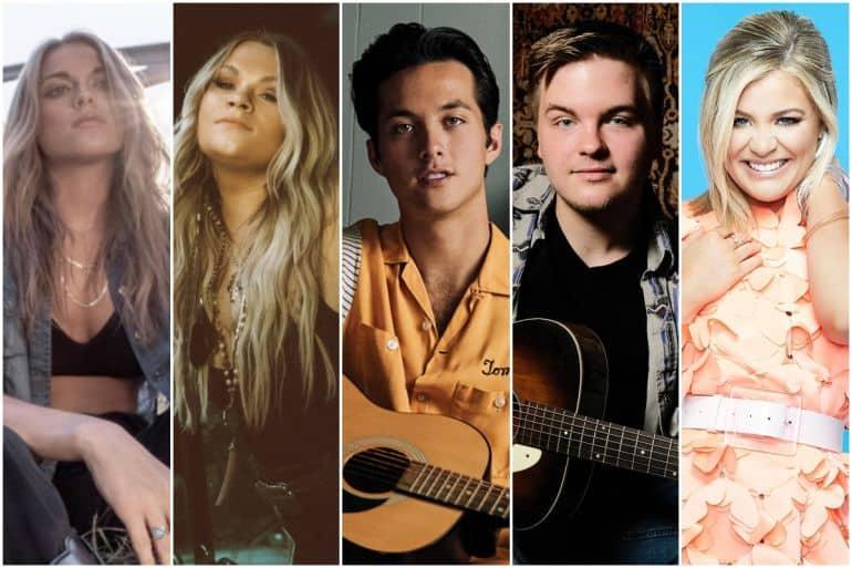 Alana Springsteen, Ashland Craft, Laine Hardy, Caleb Lee Hutchinson, Lauren Alaina (1)