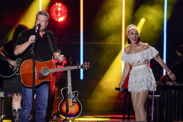 Blake Shelton and Gwen Stefani; Photo Courtesy ABC